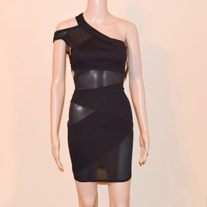 460b94b5587 Starline Dresses - NWT Starline Black Starry Night Illusion Dress